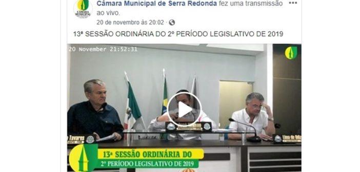 13ª SESSÃO: Câmara aprova projeto do executivo que institui parceria entre Cagepa e Prefeitura